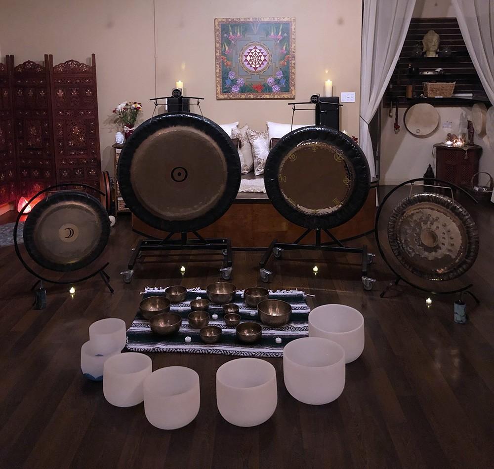 Class or Sound bath Setup