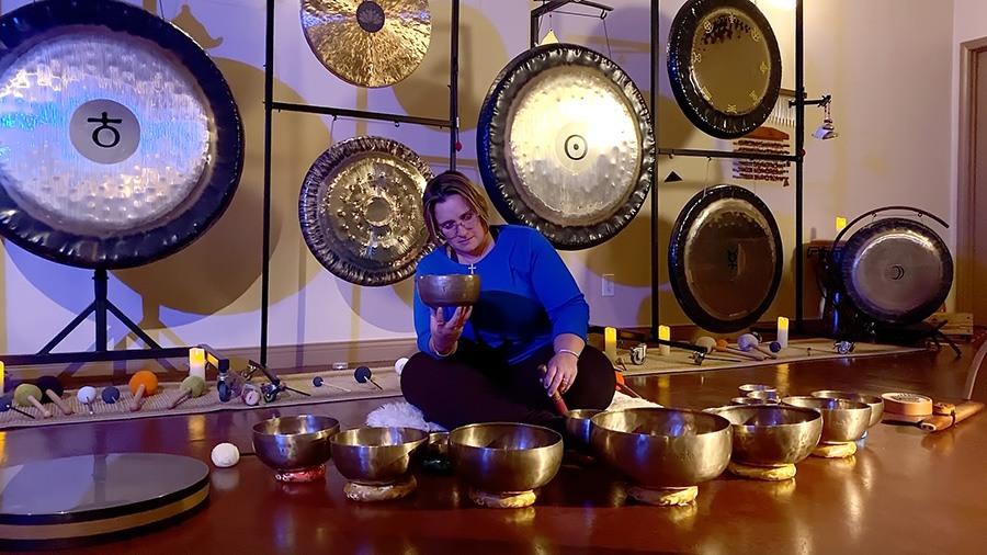 Sally Tabib sound healing
