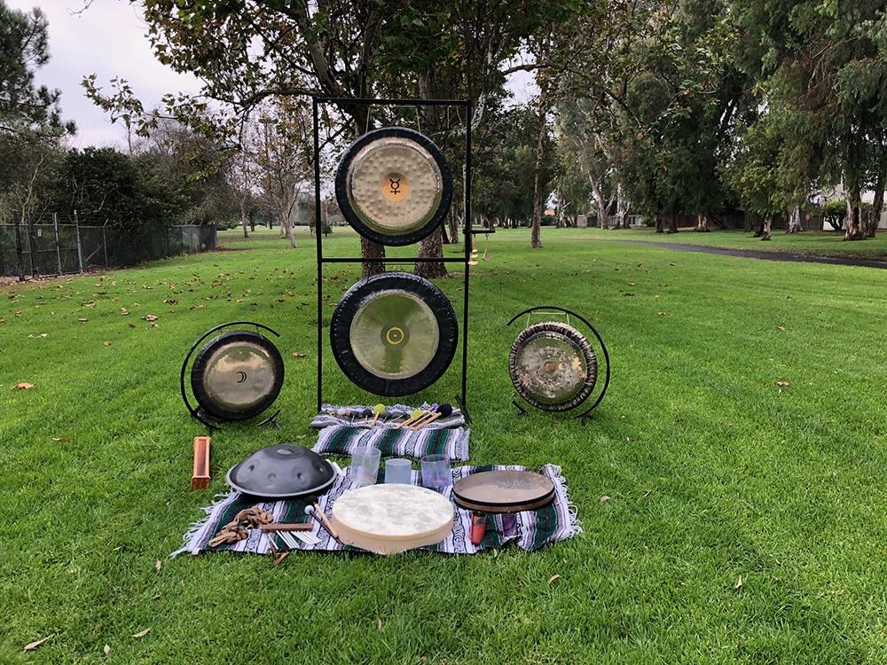 sound healing nature sally tabib