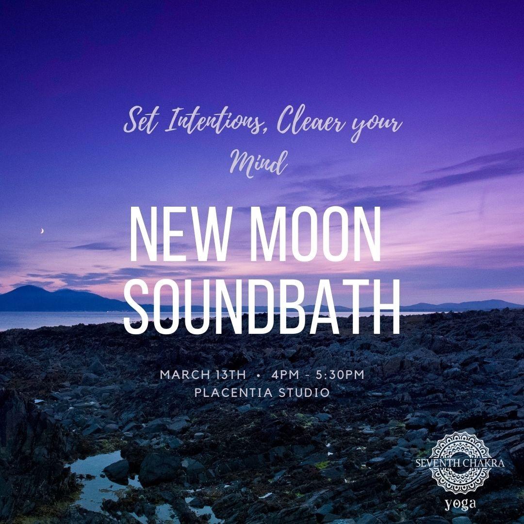 new moon bath march 11